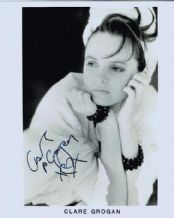 Clare Grogan Autograph Signed Photo - Altered Images